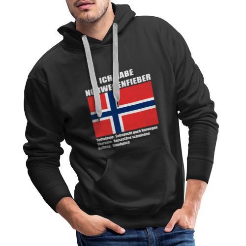 Ich habe Norwegenfieber - Männer Premium Hoodie