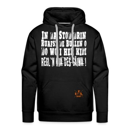 SaeiwaRegeln1 - Männer Premium Hoodie