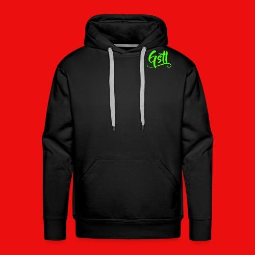 Gstl_Logo_-Green- - Men's Premium Hoodie