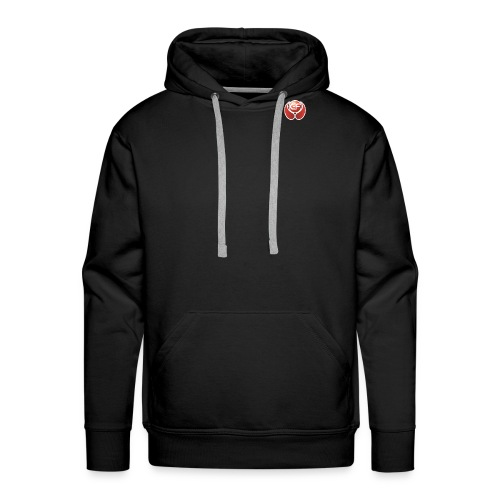 Ground Fitness Logo Ball - Männer Premium Hoodie