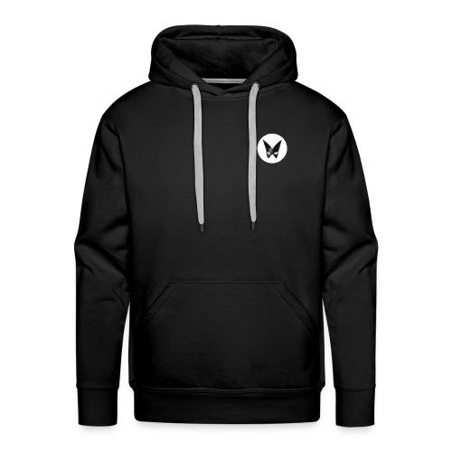 DEFAKATOR : logo simple - Sweat-shirt à capuche Premium pour hommes