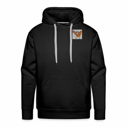 Quad Chicken Logo - Men's Premium Hoodie