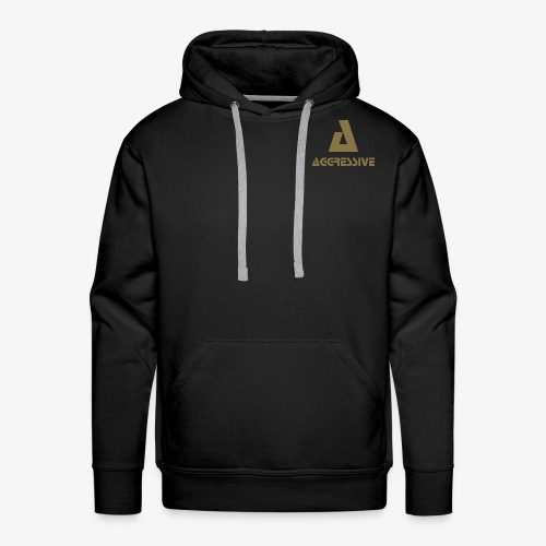 Aggressive Brand - Sudadera con capucha premium para hombre