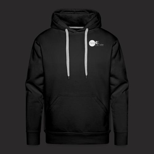 Face Cachée black edition - Sweat-shirt à capuche Premium pour hommes
