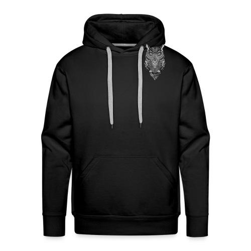 uil_groot - Mannen Premium hoodie