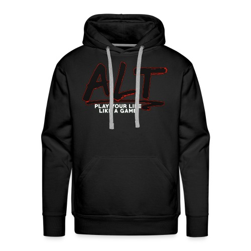 ALT Collection Special RED PLAY YOUR LIFE - Sweat-shirt à capuche Premium pour hommes