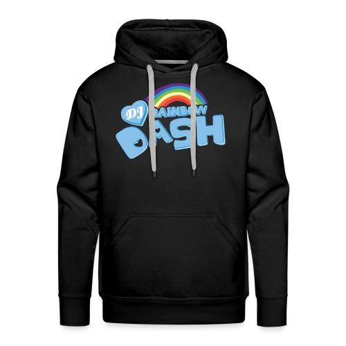 Rainbow Dash Logo neu - Männer Premium Hoodie