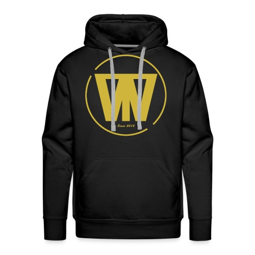 W/T Logo Tee - Guld - Herre Premium hættetrøje