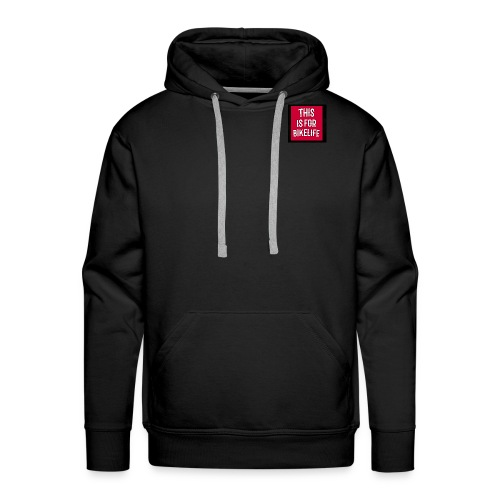 This is for bikelife - Mannen Premium hoodie