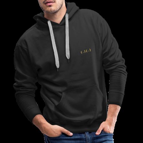 ( . )( . ) - Mannen Premium hoodie