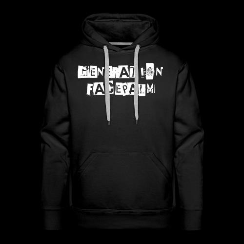 Generation Facepalm - Männer Premium Hoodie