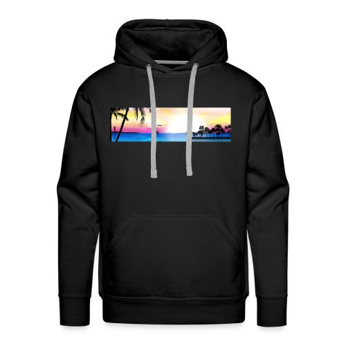 tropical - Sudadera con capucha premium para hombre