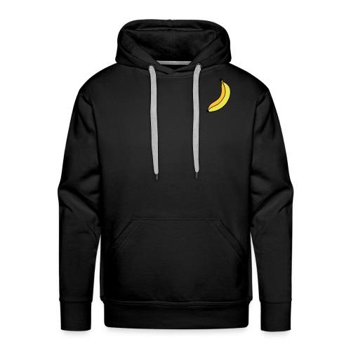 banane - Sweat-shirt à capuche Premium pour hommes
