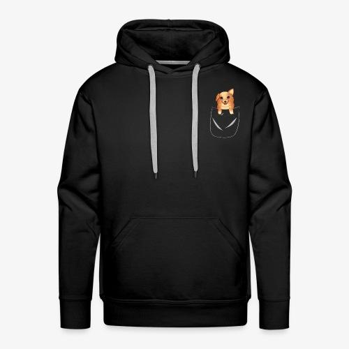 Corgi - Sweat-shirt à capuche Premium pour hommes