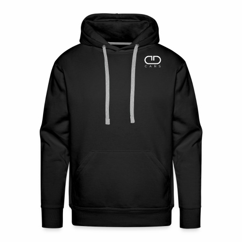 CD CARS White Signature Collection - Männer Premium Hoodie