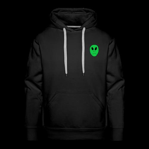 Alien Head - Men's Premium Hoodie
