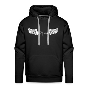 Seraph Wings white - Sweat-shirt à capuche Premium pour hommes