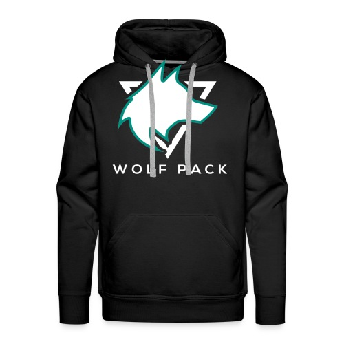 Wolf Pack Logo (NEW) - Men's Premium Hoodie