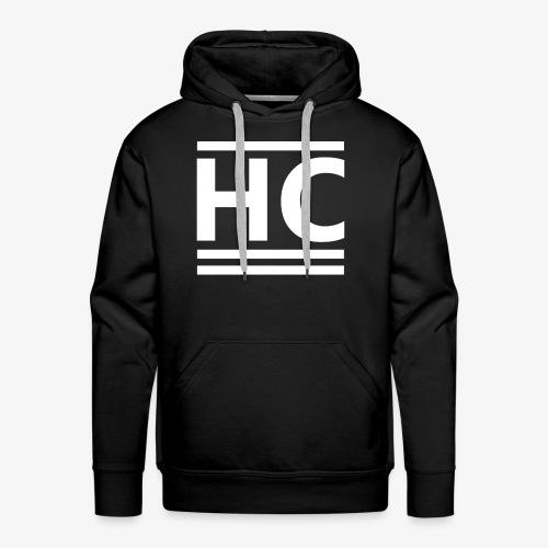 White Horizon Clothing Logo - Men's Premium Hoodie