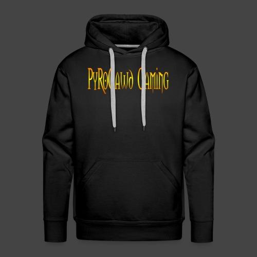 PyroGawd Logo Text - Männer Premium Hoodie