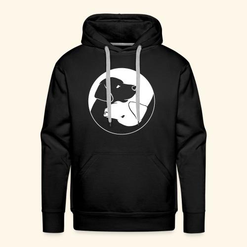 Yin Yang Labrador - Labbi - Geschenkidee - Männer Premium Hoodie