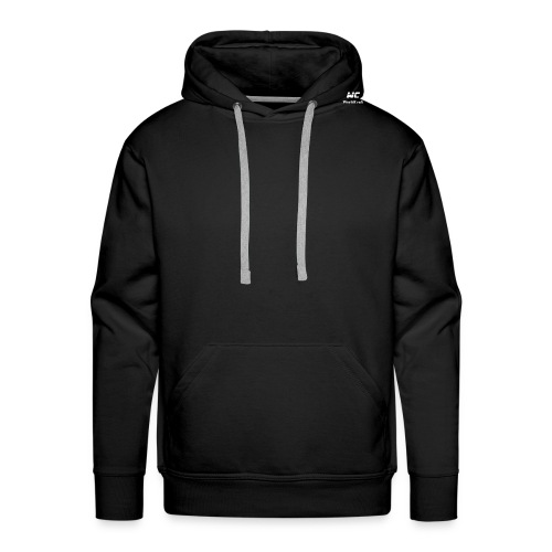 WorldCraftBlanc - Sweat-shirt à capuche Premium pour hommes