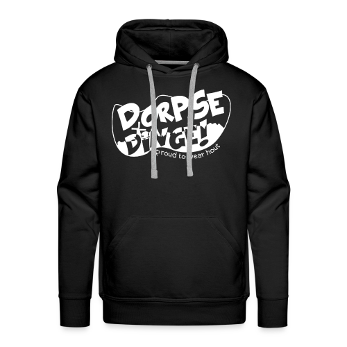 Dorpse dinge! Snapback - Mannen Premium hoodie