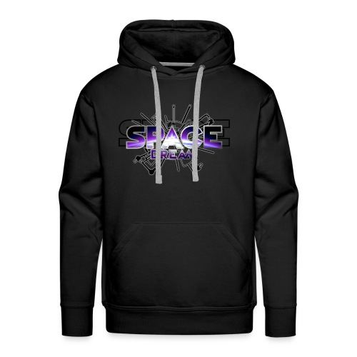 SPACE DREAM - Sweat-shirt à capuche Premium pour hommes