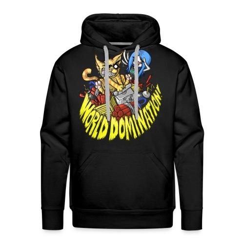 WORLD DOMINATION - Men's Premium Hoodie
