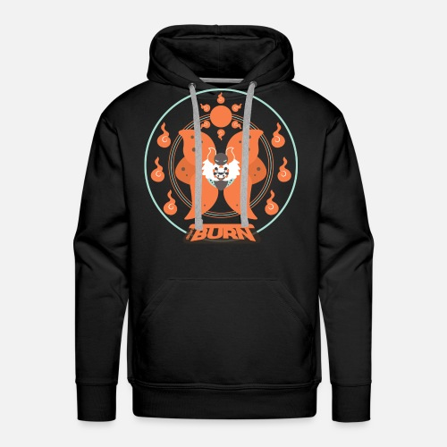 Volcarona - Sweat-shirt à capuche Premium pour hommes