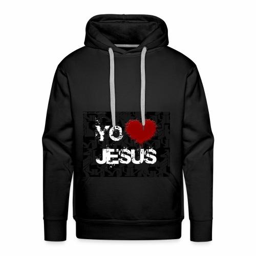 fondo cristiano - Sudadera con capucha premium para hombre