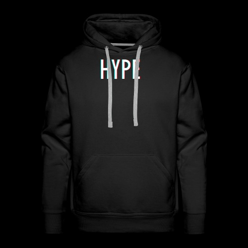 HYPE 3D - Männer Premium Hoodie