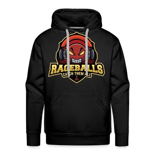 Rageballs - Das offizielle Logo - Männer Premium Hoodie