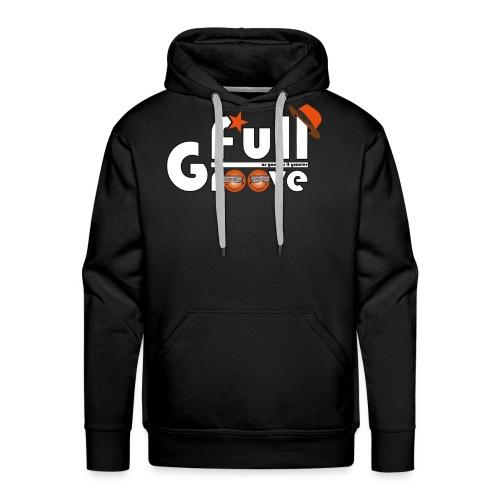 Full-GrOOve #1 - Sweat-shirt à capuche Premium pour hommes