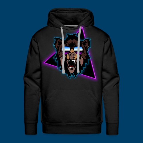 Grizzly 80's - Men's Premium Hoodie