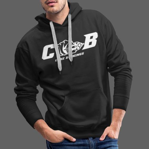 CORE Bookings Logo with Text - Männer Premium Hoodie