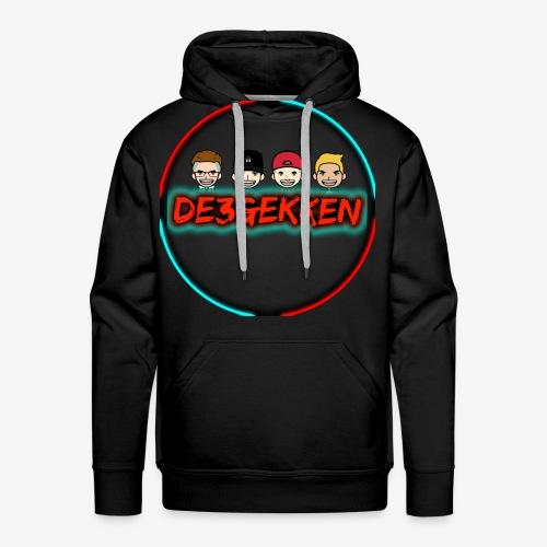 De3gekken - Mannen Premium hoodie