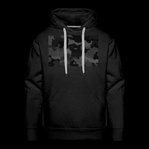 Camouflage-Black - Männer Premium Hoodie