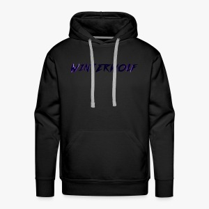 Official WINTERWOLF Season V logo - Mannen Premium hoodie