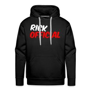 Rickofficial 2d logo trui - Mannen Premium hoodie