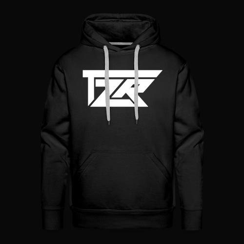 TZR White Logo - Men's Premium Hoodie