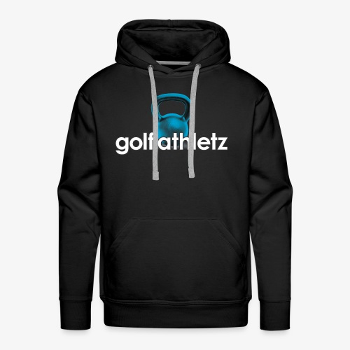 GOLF ATHLETZ - Kettlebell Trainings Sport Motiv - Männer Premium Hoodie