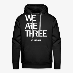 WE ARE THREE - Männer Premium Hoodie