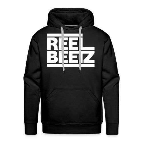 REEL BEETZ Weiss - Männer Premium Hoodie