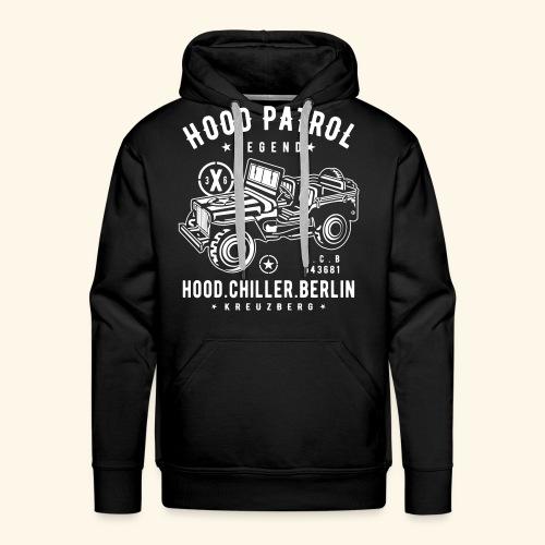Hood Patrol Jeep Hood Chiller Berlin - Männer Premium Hoodie