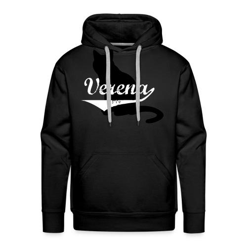 Verena Cat - Männer Premium Hoodie