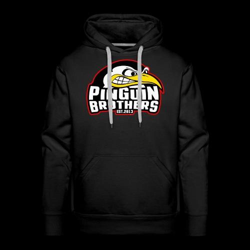 Pinguin bracia Clan - Bluza męska Premium z kapturem