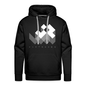 LOGO VIPTRACKS RELEASES - Mannen Premium hoodie
