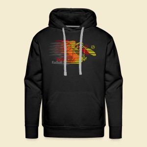 Radball | Earthquake Germany - Männer Premium Hoodie