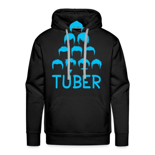 OrdinaryTuber Blue Hair - Men's Premium Hoodie